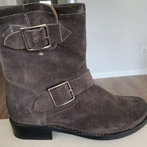 Frye Vicky Buckle Booties Size 6